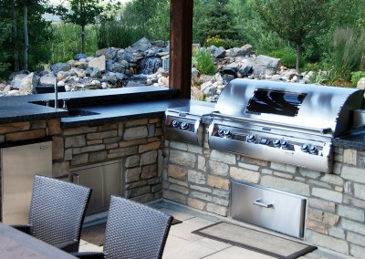 Mellersh outdoor kitchen