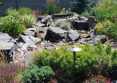 Petracek waterfall with Planting